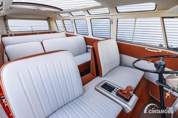 Gambar menunjukkan Interior VW e-Bulli Concpet 2020