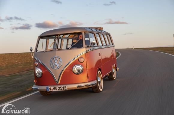 VW e-Bulli Concept, Retroisme Modern VW Samba