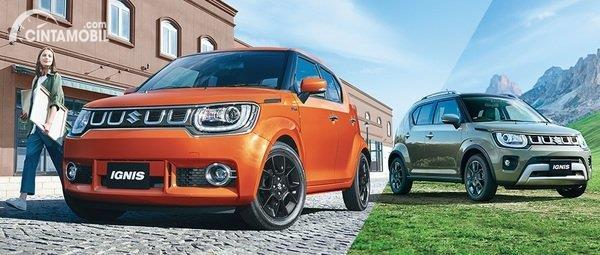 Suzuki Ignis facelift yang baru saja bocor masuk Indonesia