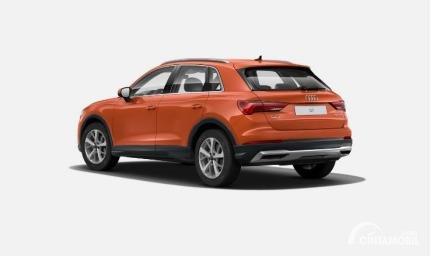 Gambar menunjukkan tampilan belakang All New Audi Q3 2020