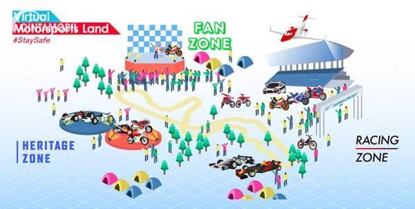 Honda Virtual Motorsport Land, Balapan Sambil #DirumahAja