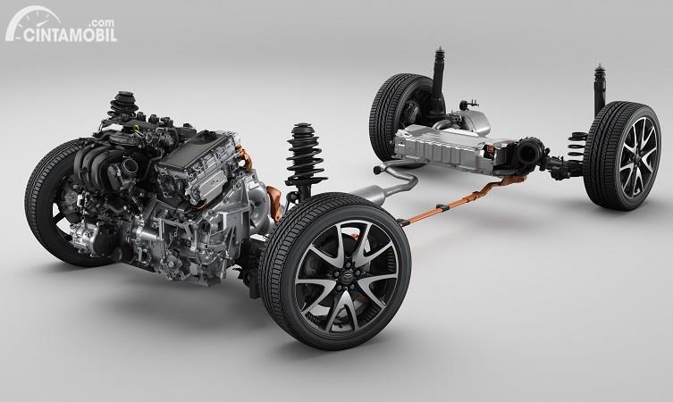 Sistem hybrid terbaru yang dipakai di Toyota Yaris