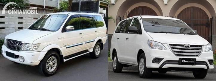 Isuzu Panther Grand Touring dan Toyota Kijang Innova Diesel