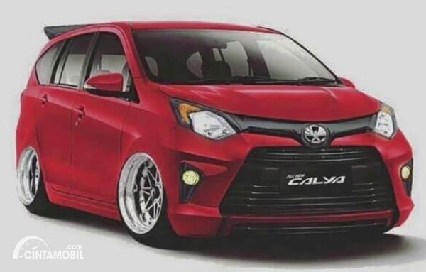 Trik Bikin Toyota Calya Modifikasi Ceper dan Keren