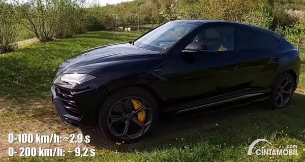 Kemampuan Lamborghini Urus HGP