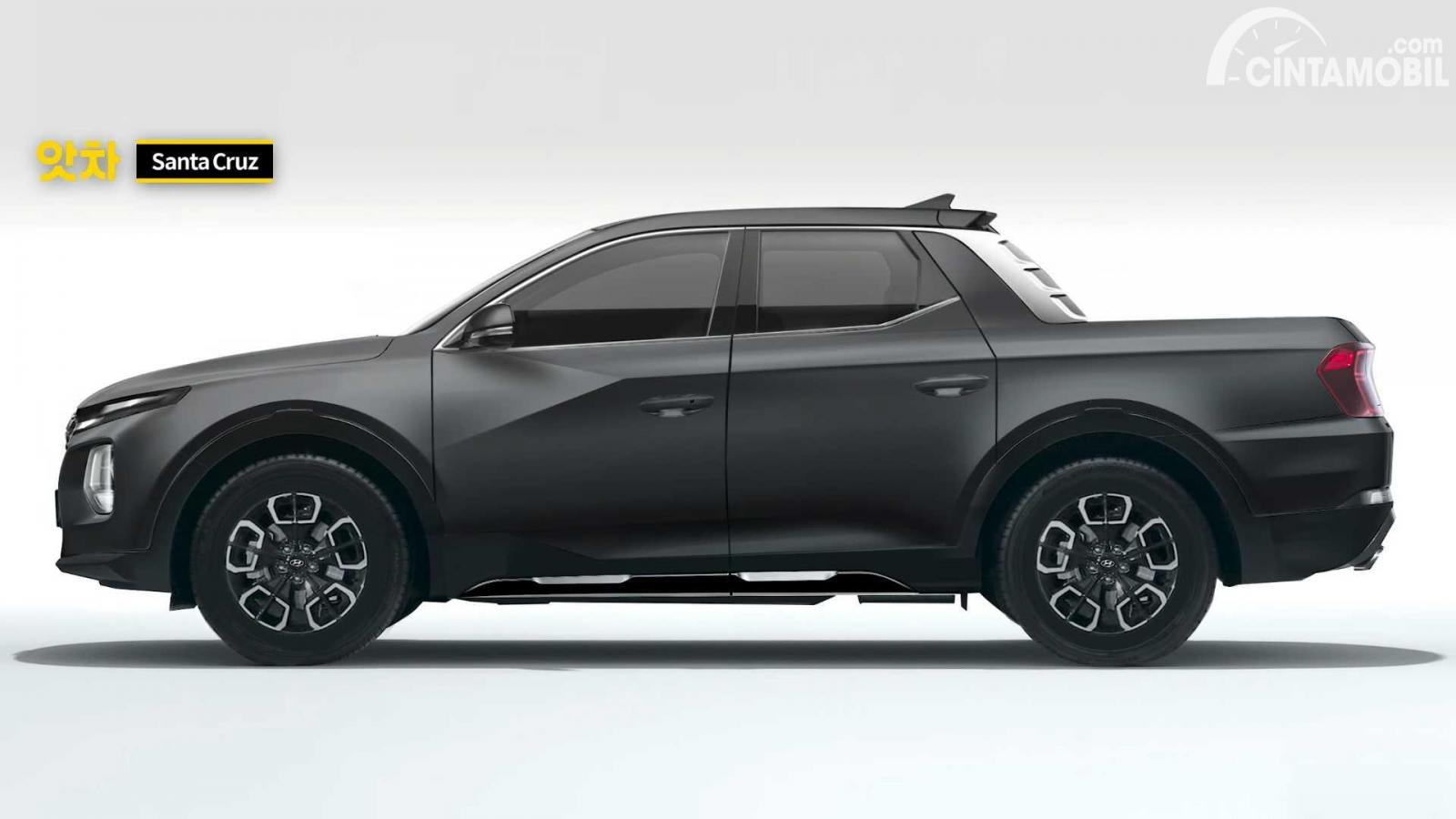 Body Hyundai Santa Cruz Bocor, Begini Desainnya