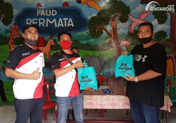 Donasi TACI di Jakarta