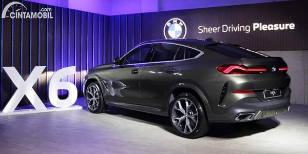 New BMW X6 2020 back