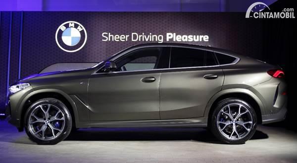 BMW X6 2020 samping