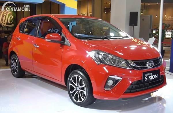 Daihatsu Sirion bekas 2018 dijual