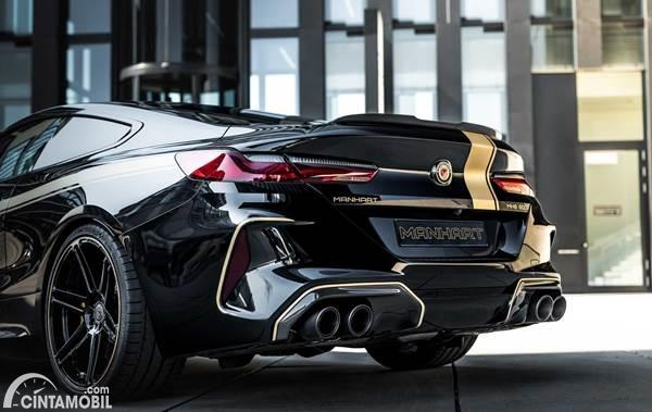 BMW M8 Competition Manhart back