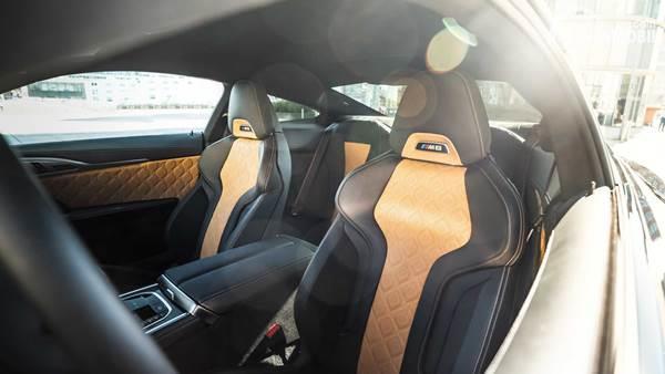 BMW M8 Competition Manhart interior