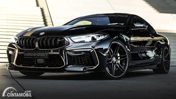Modifikasi BMW M8 Competition Coupe 2020 yang Lebih Buas Racikan Manhart