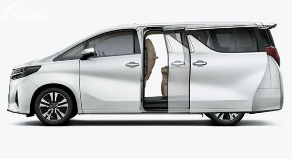 Toyota Alphard sliding door