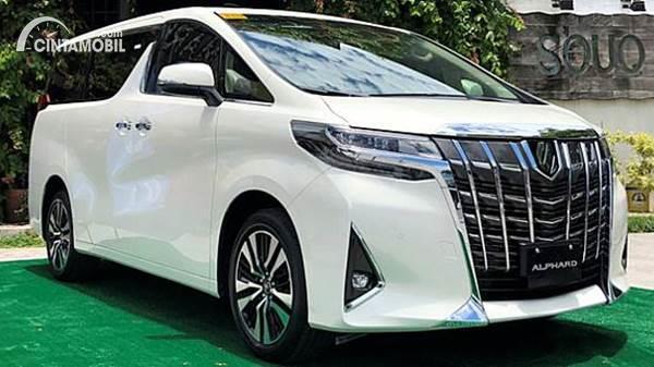 Harga Toyota Alphard 2020