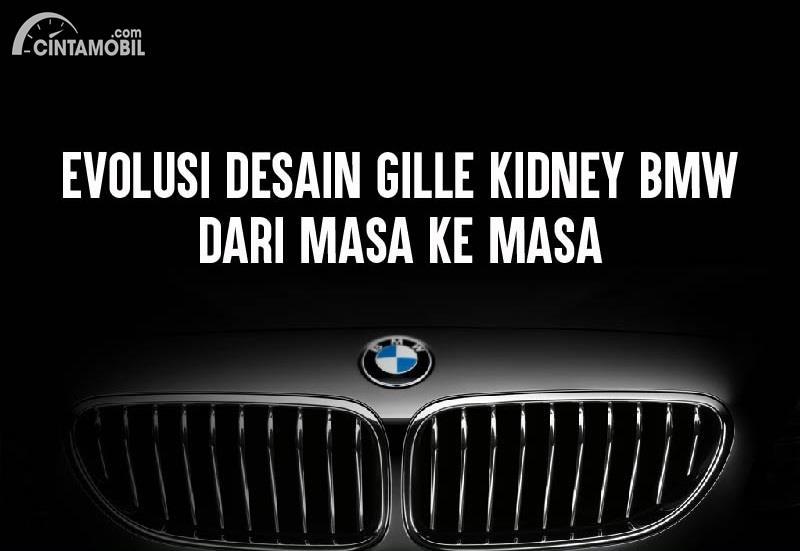 [INFOGRAFIK] Evolusi Desain Kidney Grille BMW dari Masa ke Masa