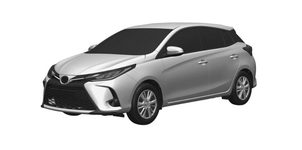Rendering Toyota Yaris Facelift, Tampak Segar Dengan Wajah Baru