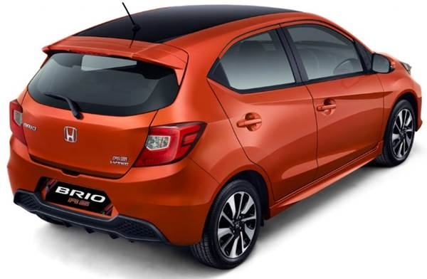 Honda Brio RS back