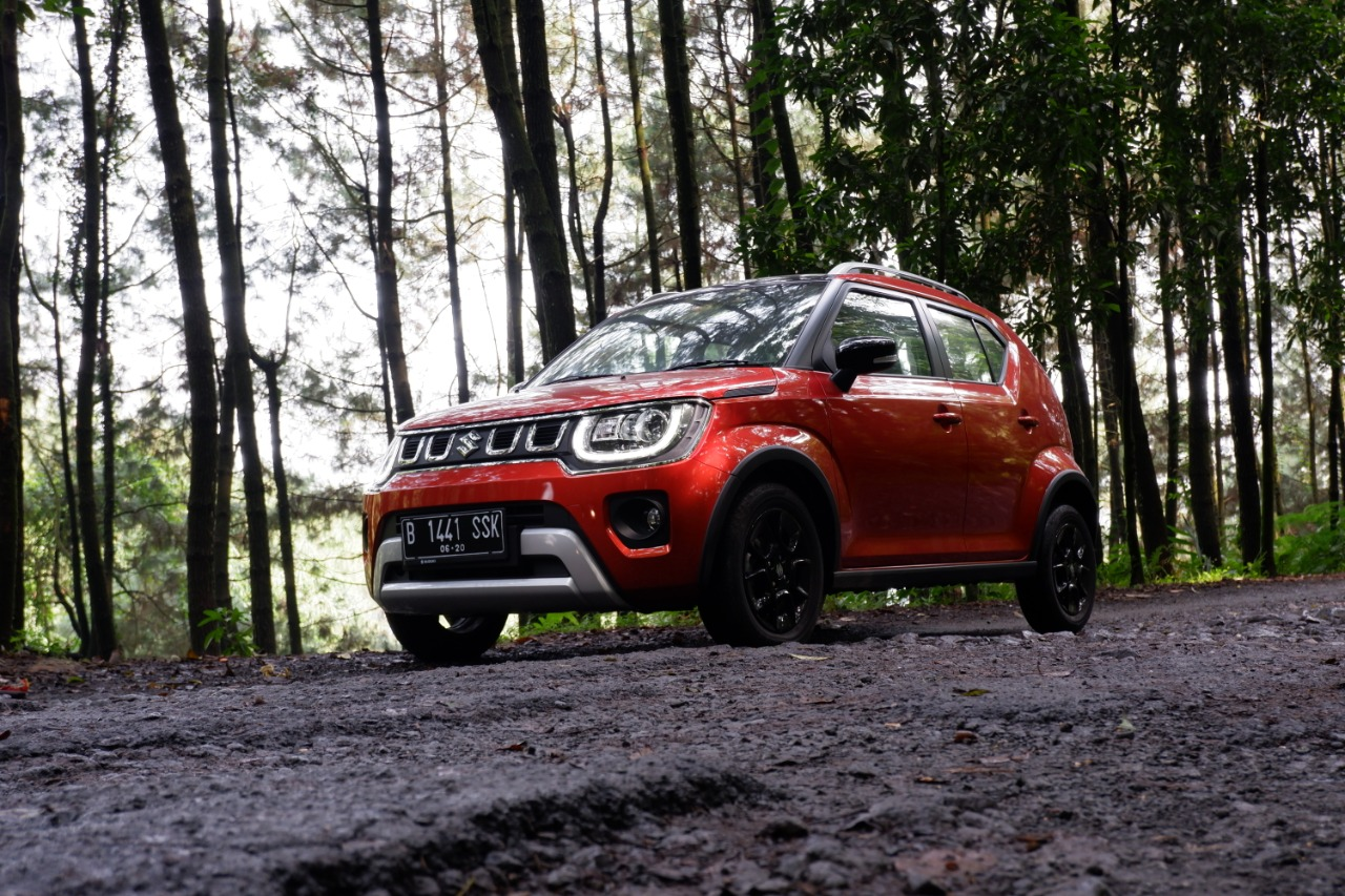 Foto ground clearance Suzuki Ignis GX AGS 2020