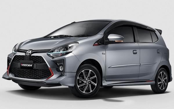 Toyota Agya dijual