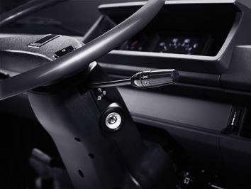 Gambar menunjukkan steering column Isuzu Bison 2010