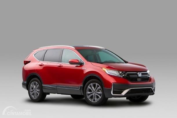 Gambar menunjukkan generasi kelima dari Honda CR-V
