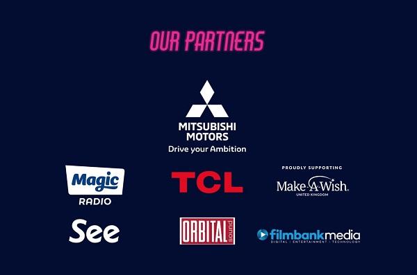 Gambar menunjukkan Mitsubishi Motors menjadi sponsor utama The Luna Cinema Drive In