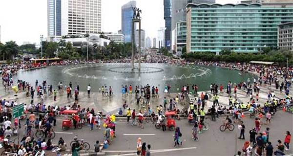 Car Free Day di Sudirman Thamrin Ditutup Lagi, Ini 32 Lokasi Alternatif