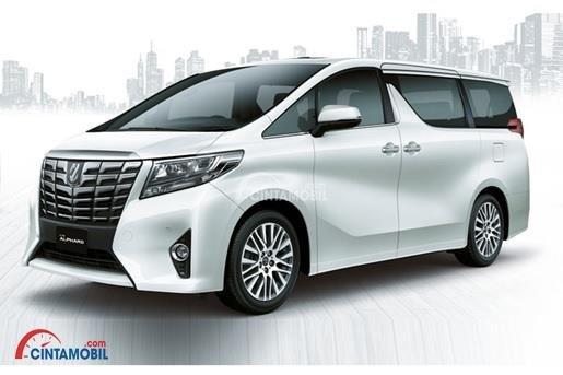 Gambar menunjukkan generasi kedua dari Toyota Alphard