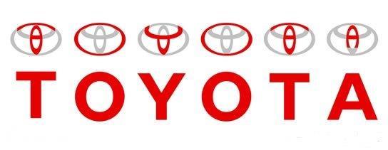 Gambar menunjukkan makna dari logo mobil Toyota