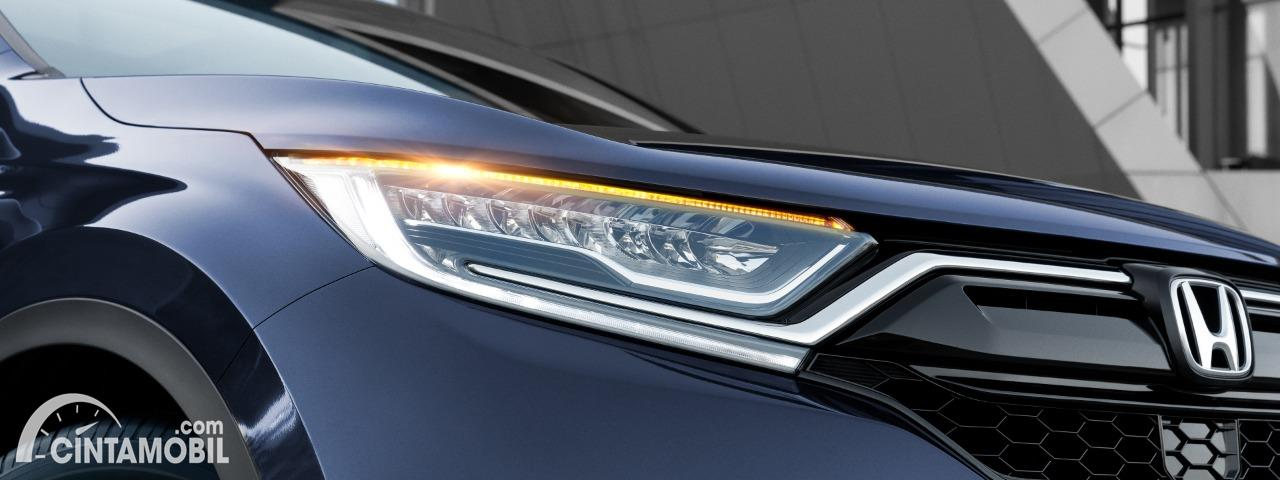 Gambar headlamp Honda CR-V Facelift 2020