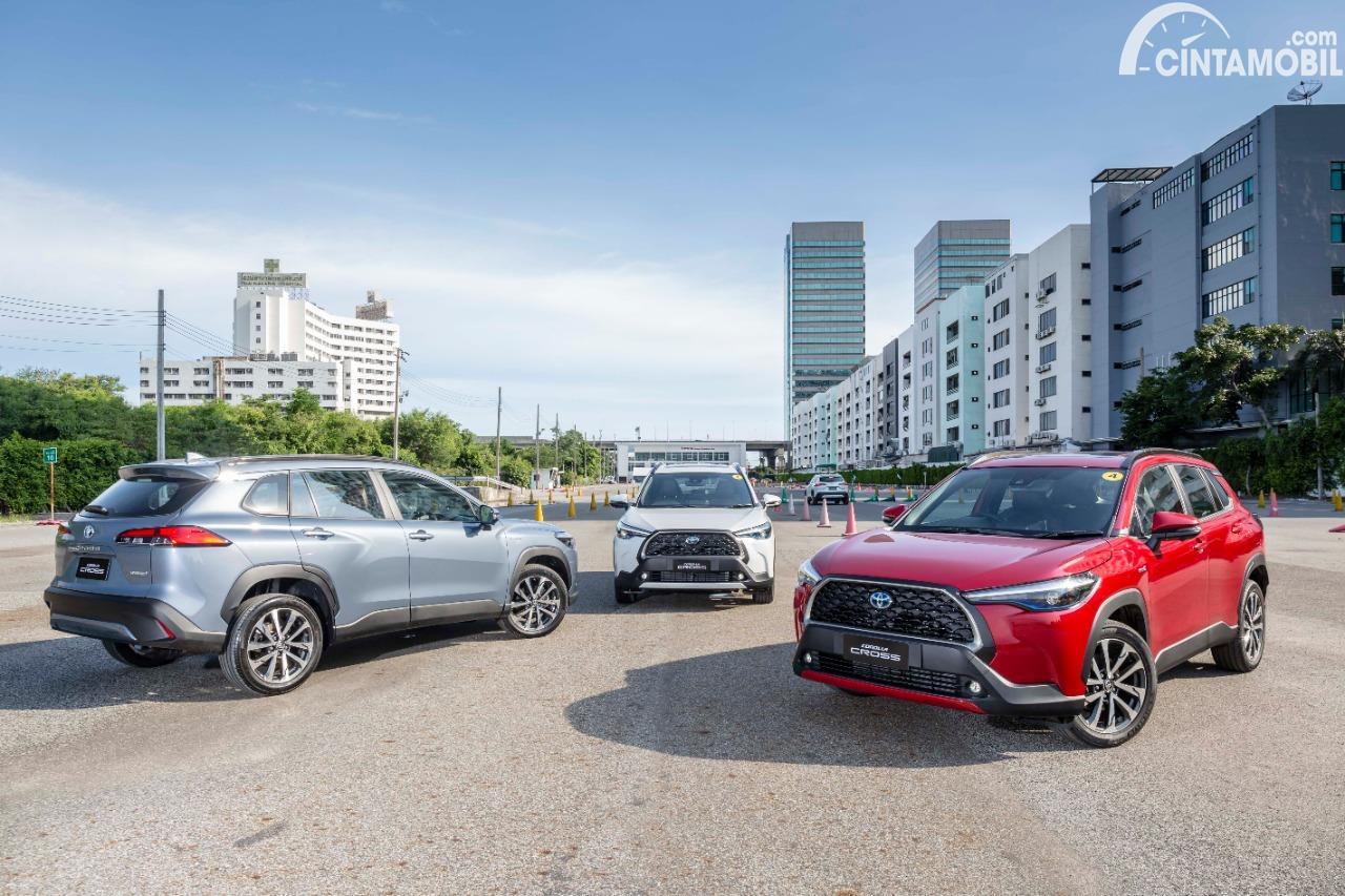 Gambar line up Toyota Corolla Cross 2020