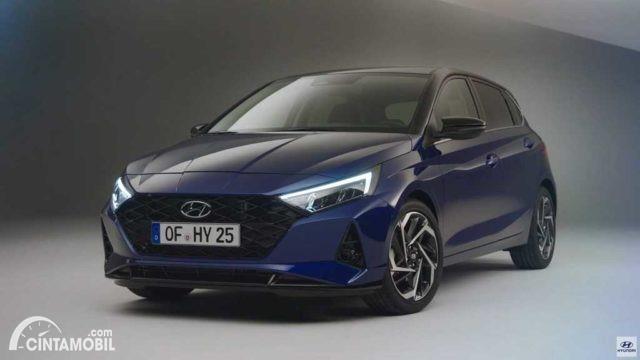 Gambar menunjukkan generasi ketiga dari Hyundai i20