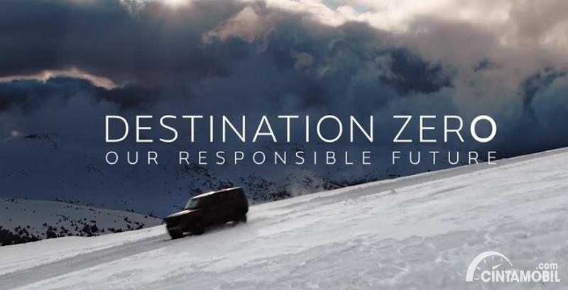 Gambar menunjukan Program Destination Zero