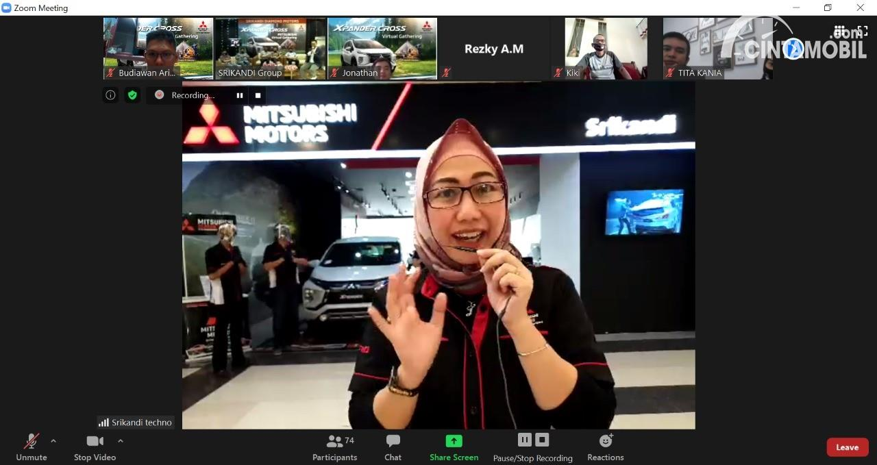 Gambar Dealer Mitsubishi Virtual Gathering