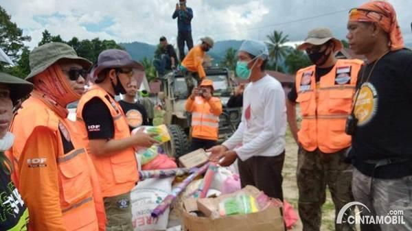 Donasi Sosial IOF Sulawesi Selatan
