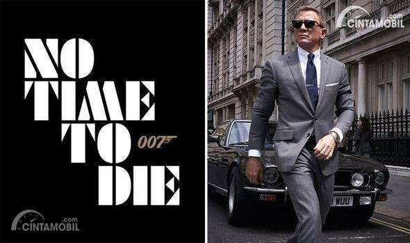 Poster film James Bond No Time to Die