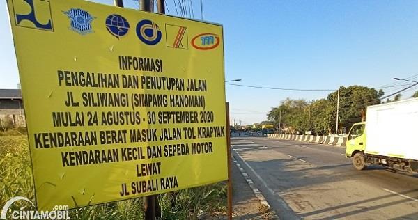 Simpang Hanoman Semarang Diperbaiki, Jalan Tutup Hingga 30 Agustus