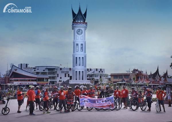 Rayakan HUT RI ke-75, TeRuCI Gowes Kemerdekaan di 17 Kota
