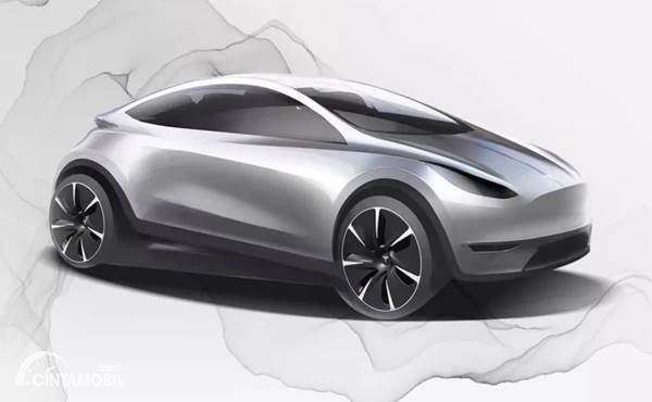 Tesla Model 3 Hatchback Akan Jadi Mobil Listrik Murah
