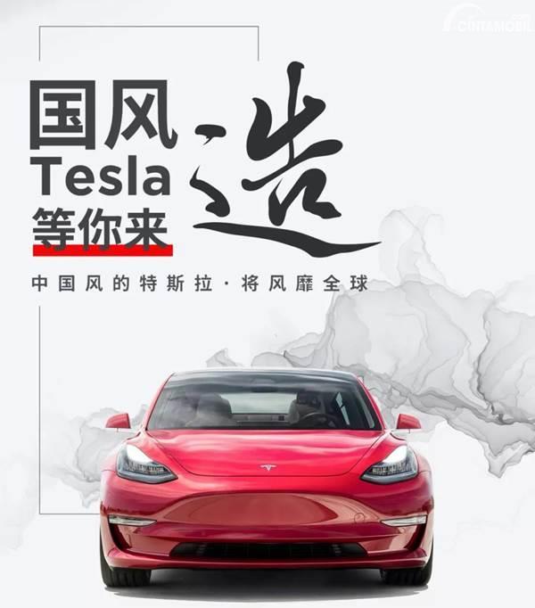 Tesla Model 3 di Cina