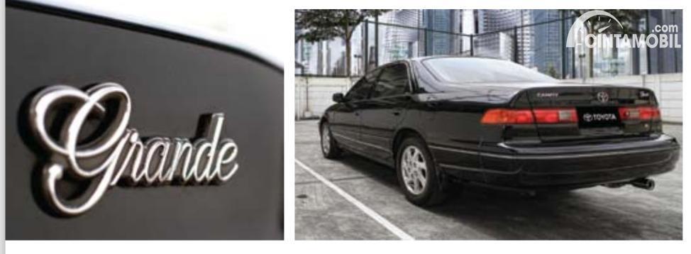 Gambar logo Grande pada Toyota Camry 1998