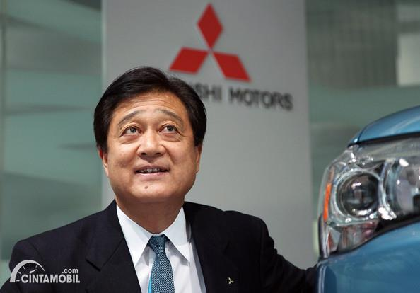 Mantan CEO Mitsubishi Osamu Masuko Tutup Usia