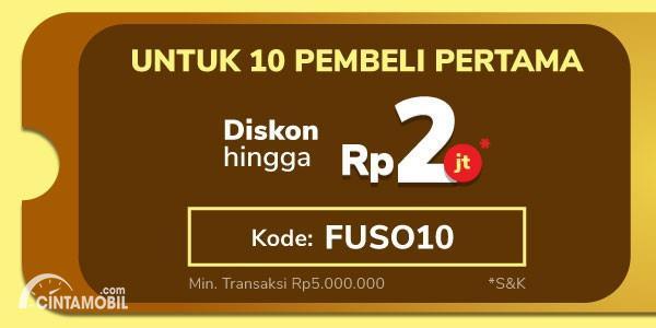 Gambar Kode promo FUSO10