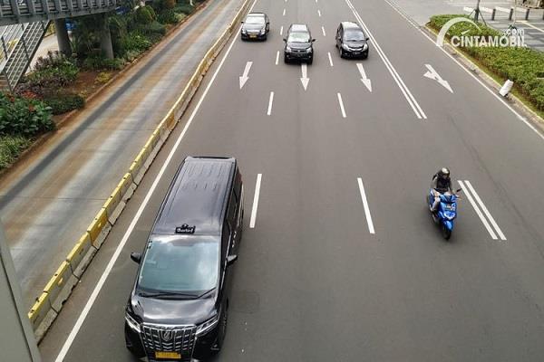 Sanksi Bagi Sepeda Motor yang Nekat Masuk Tol