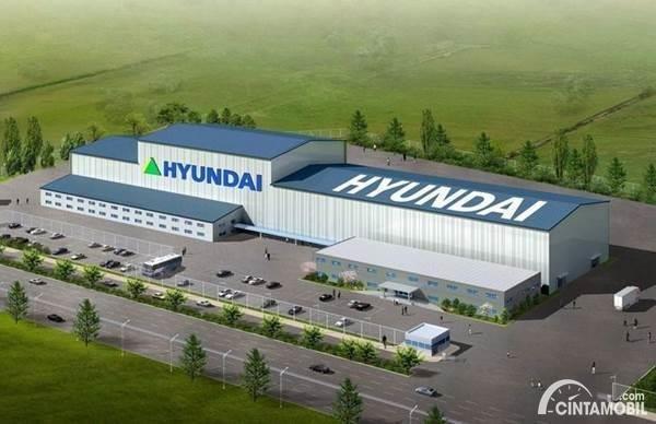 Pabrik mobil listrik hyundai