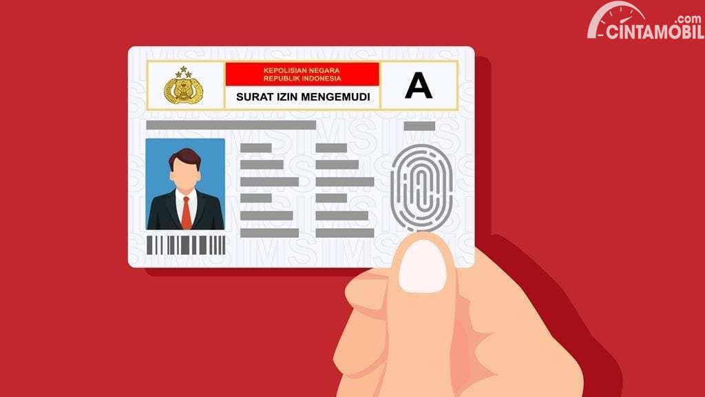 ilustrasi SIM online yang ada di Indonesia