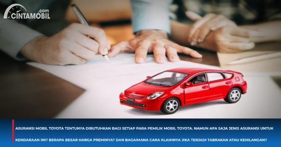 Cara Klaim Asuransi Mobil Toyota di Bengkel Resmi