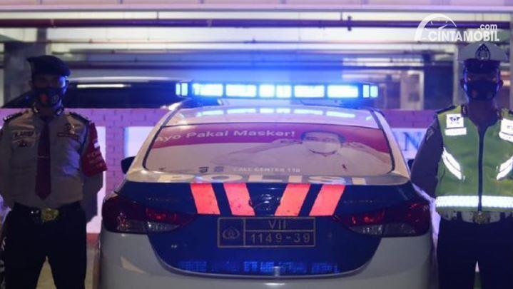 Polresta Bandara Soetta Hadirkan Corona Mobile Patrol
