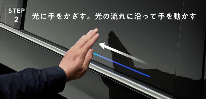Cara mengoperasikan fitur gesture control di pintu geser Honda Odyssey 2020
